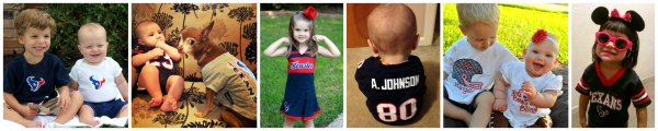 Cutest Texans Fan - Contributor Kids