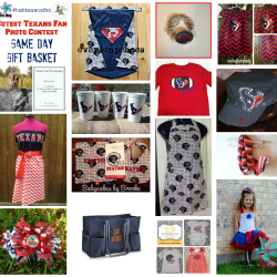 Cutest Texans Fan - Game Day Gift Basket