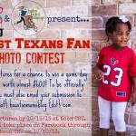 Cutest Texans Fan Photo Contest