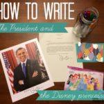 How to Write the President & a Disney Princess