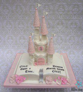 Smash Cakery Castle Cake