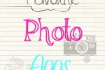 Favorite Photo Apps
