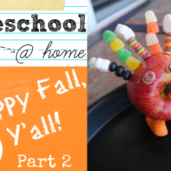 Jenn - Preschool at Home Fall Part 2