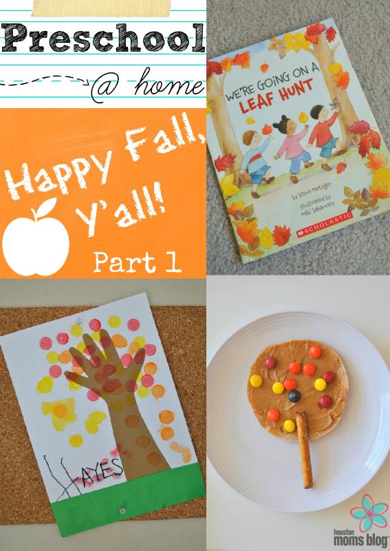 Preschool at Home - Fall Part 1