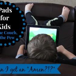 iPads in Church