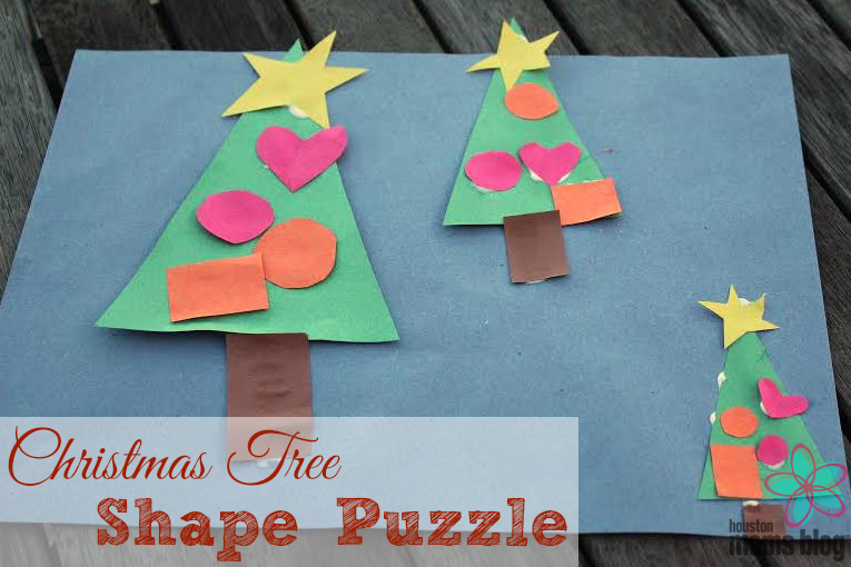Christmas Tree Shape Puzzle