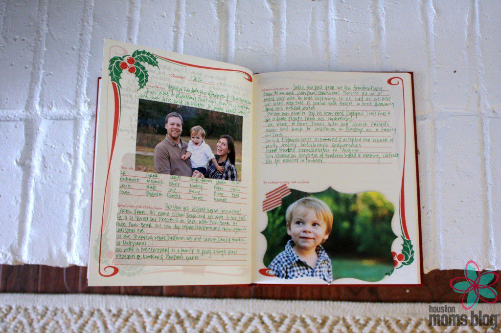our 2012 memories - Christmas Memories Book