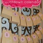 A Valentine's Day Countdown Calendar