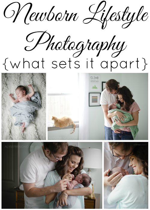 Newborn lifestyle photography what sets it apart