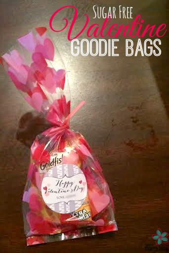 Sugar Free Valentine Goodie Bags