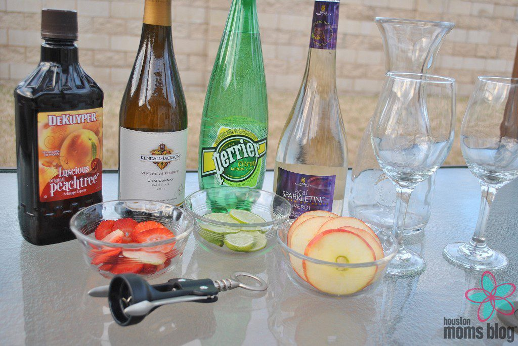 The Perfect White Wine Sangria Ingredients