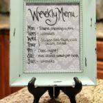 Weekly Menu Board and Cooking Shortcuts
