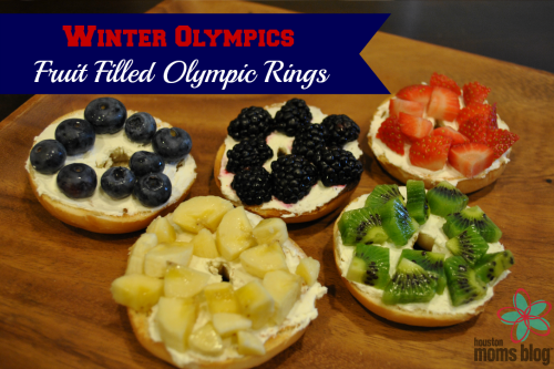 Winter Olympics Fruit Filled Olympic Rings