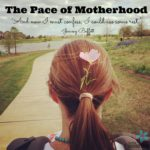 The Pace of Motherhood