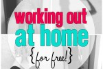 Working Out at Home for Free