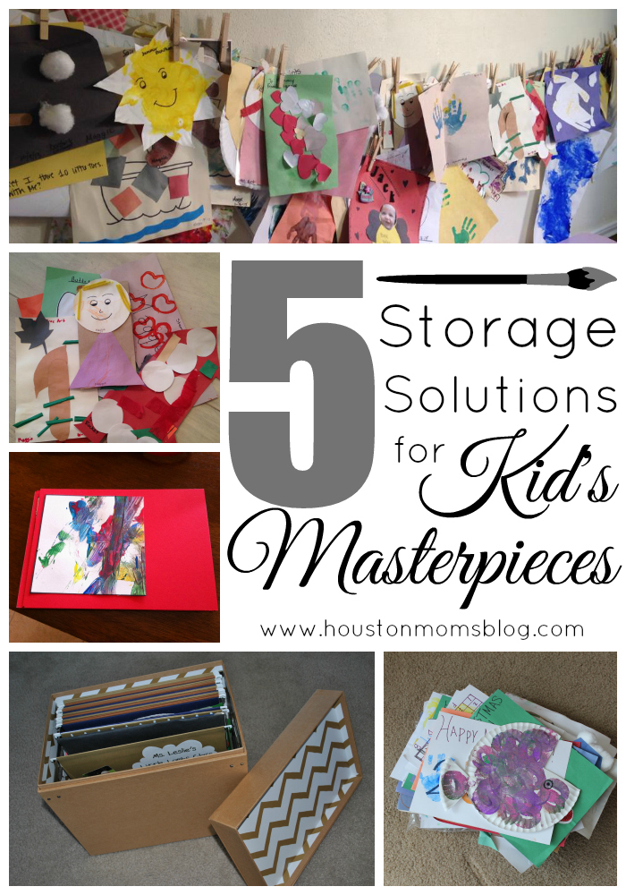 5 Storage Solutions for Kid's Masterpieces