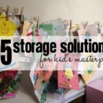 Arts and Crafts Solutions {Spring Cleaning}