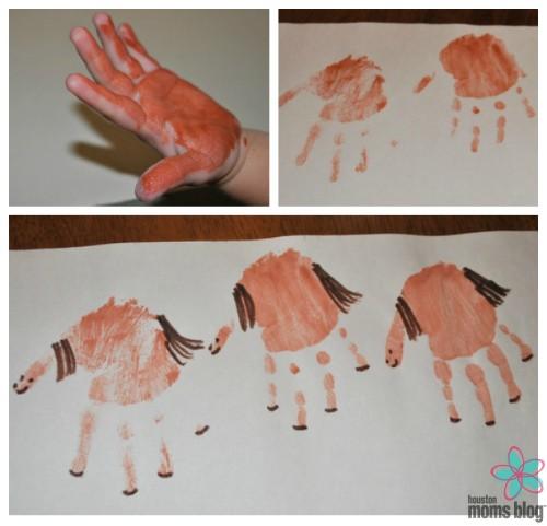 Handprint Horse Craft