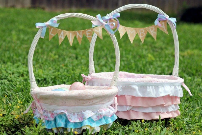 3 simple easter projects diy easter basket negle Images