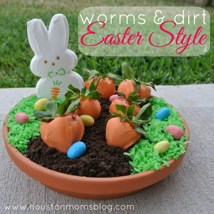 Worms & Dirt  Easter Style
