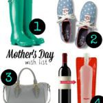Our Mother's Day Wishlist