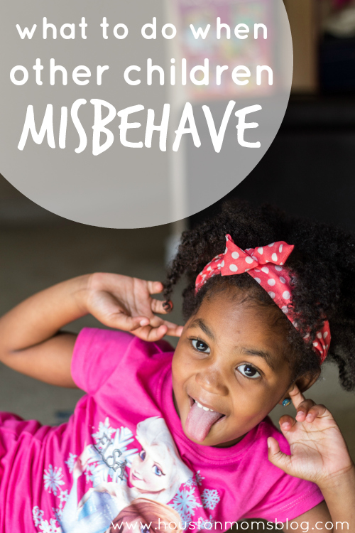 what are some reasons children misbehave