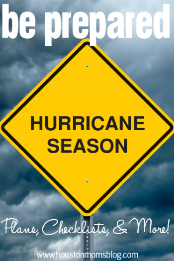 Be Hurricane Prepared, Houston!