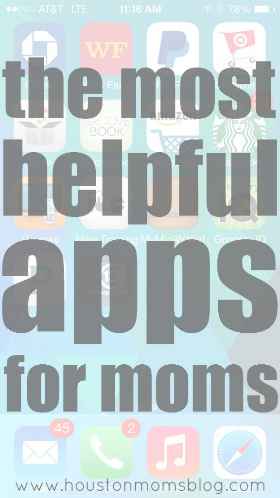 The Most Helpful Apps for Moms