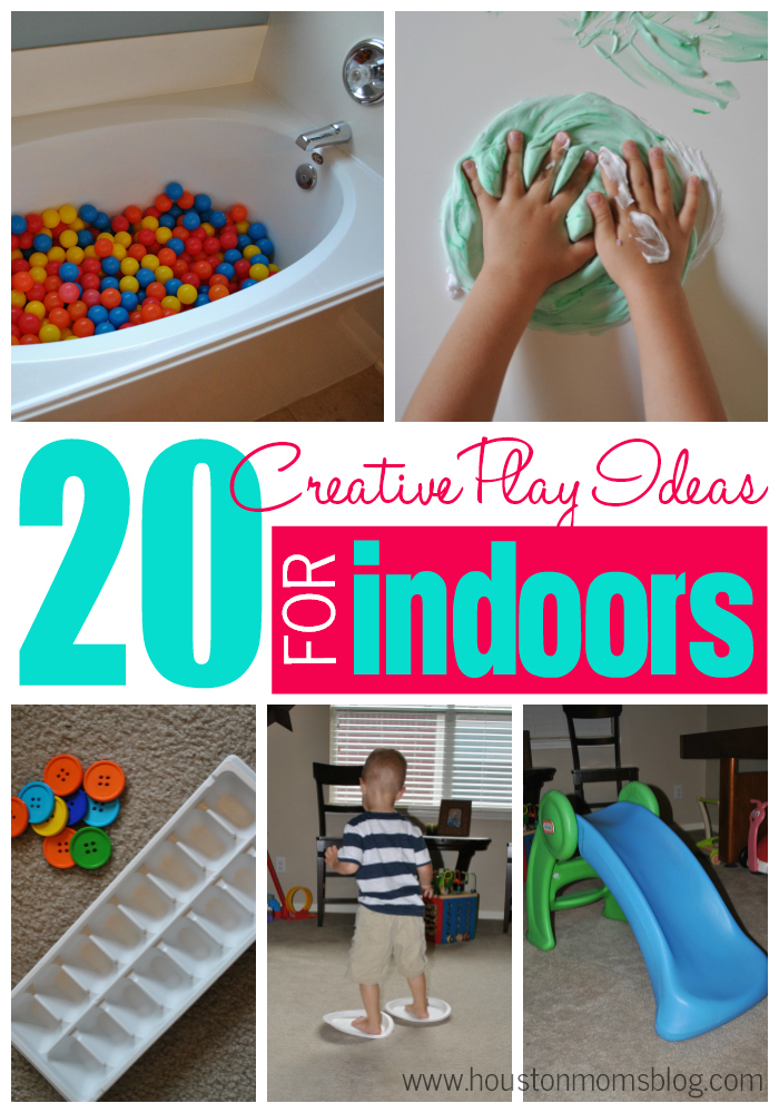 20 Creative Indoor Play Activities