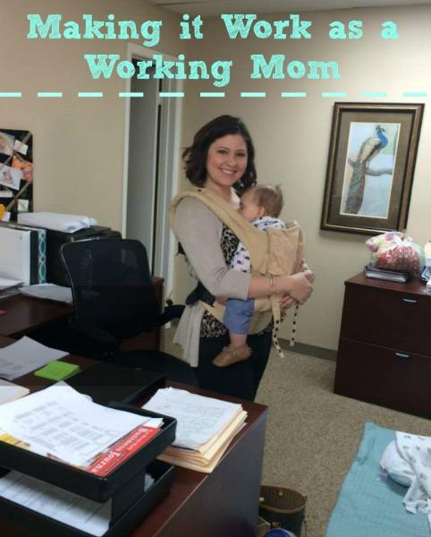 Breastfeeding Working Mom