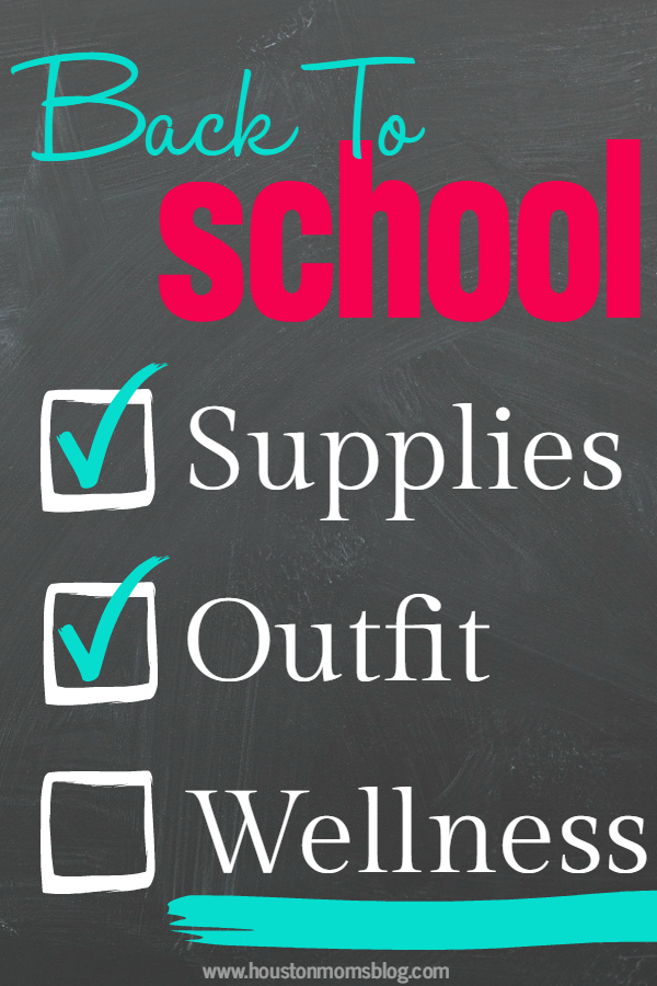 Back to School Health & Wellness