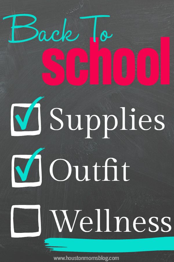 Back to School Health & Wellness