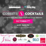 Event Announcement :: Corsets & Cocktails {A Lingerie Happy Hour Supporting Breast Cancer Awareness}