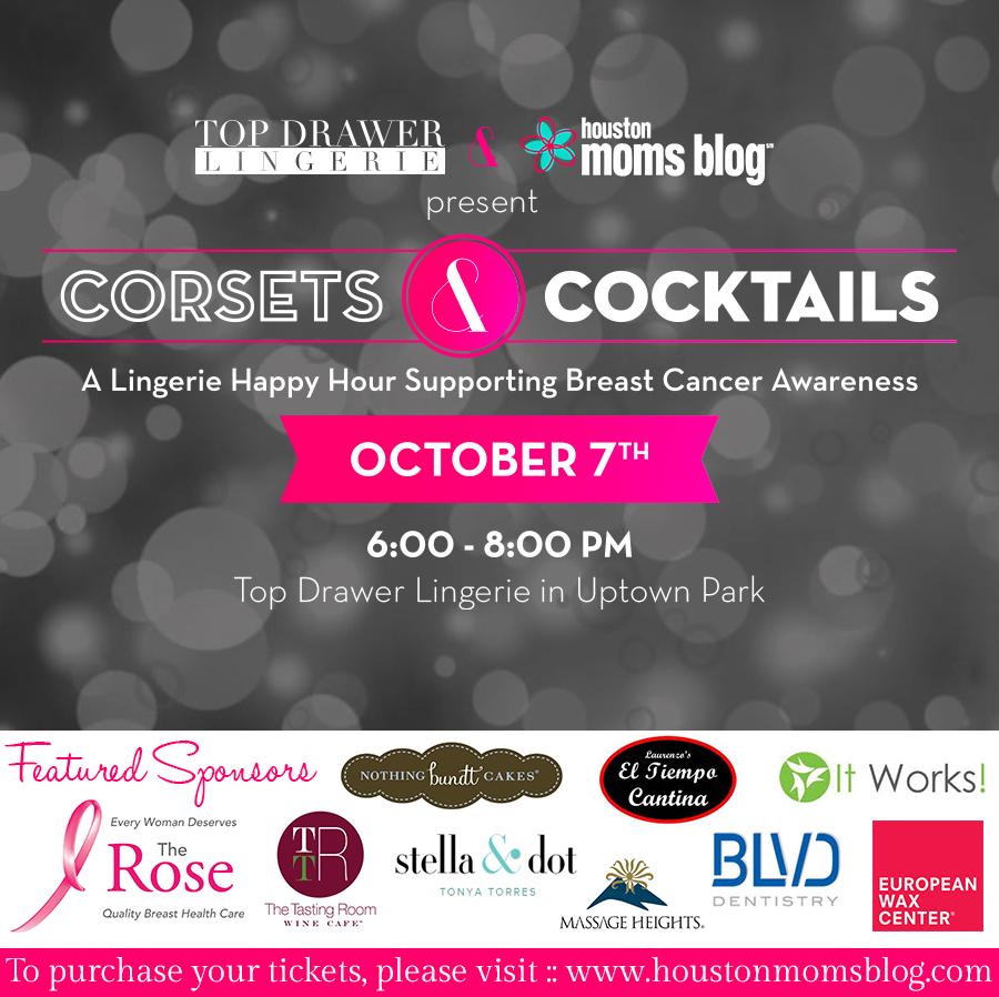 event announcement corsets cocktails a lingerie happy hour event announcement corsets cocktails a lingerie happy hour supporting breast cancer awareness