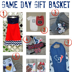 Cutest Texans Fan Game Day Gift Basket