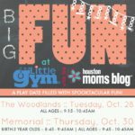 You're Invited :: BIG Fun at The Little Gym! {Spooktacular Edition}
