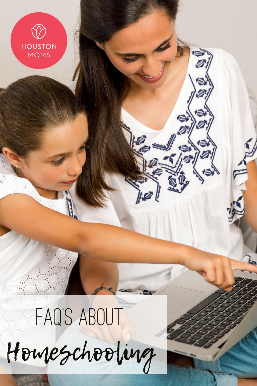 """Houston Moms """"FAQs about Homeschooling"""" #houstonmoms #houstonmomsblog #momsaroundhouston"""