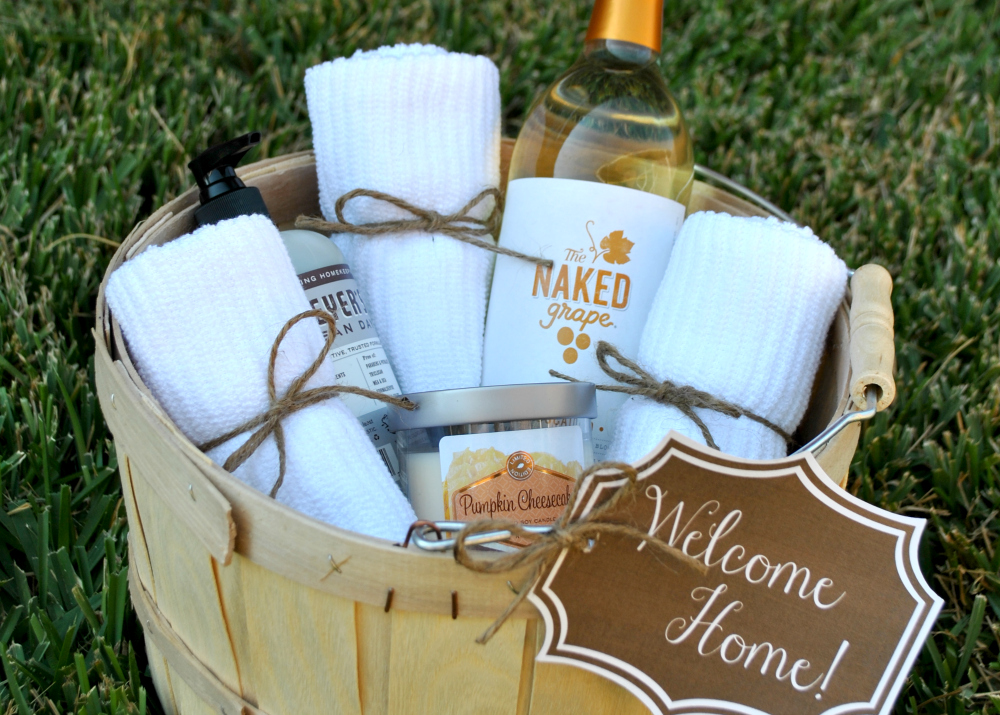 Housewarming Gift Basket 2