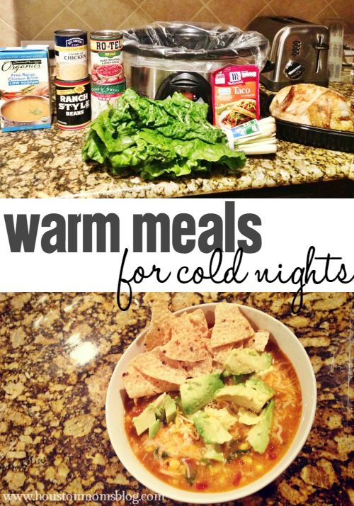Warm Meal Recipes