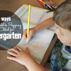 Preparing for Kindergarten - Featured