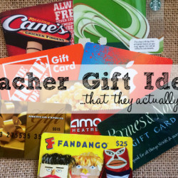 Teacher Gift Ideas - Featured