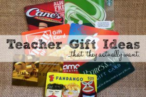 Teacher Gift Ideas - Featured
