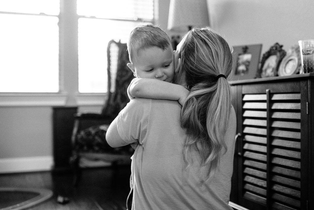 connor mommy hug