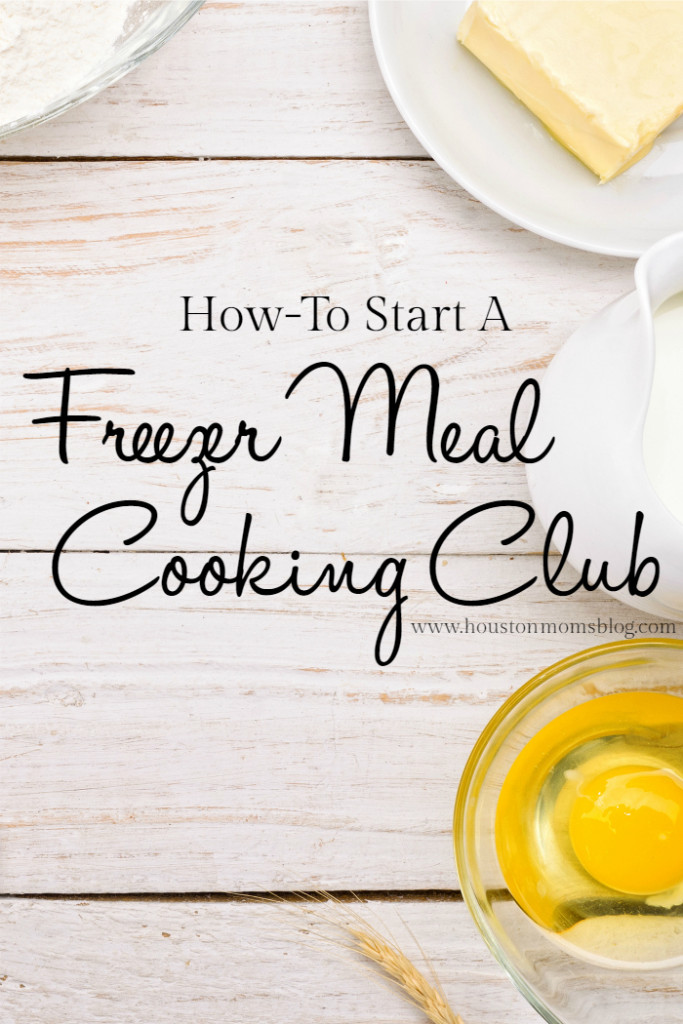 Freezer Meal Cooking Club