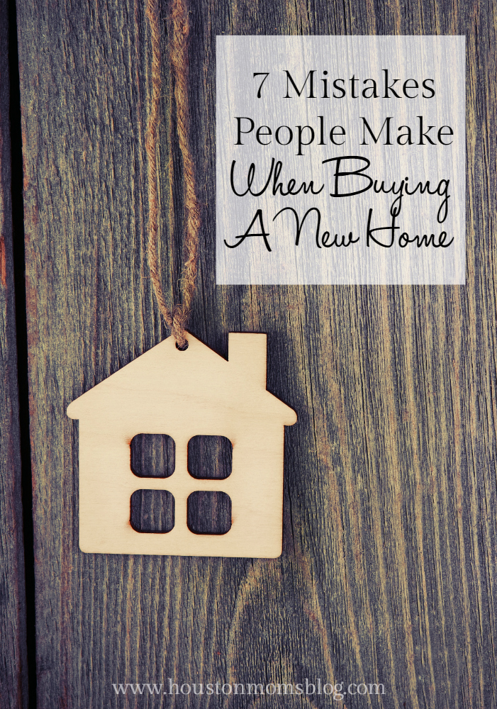 Mistakes When Buying a New Home
