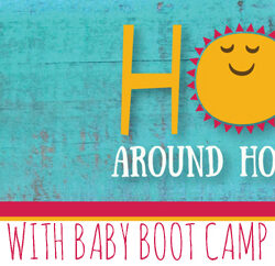 Hop Around Houston - Baby Boot Camp Featured