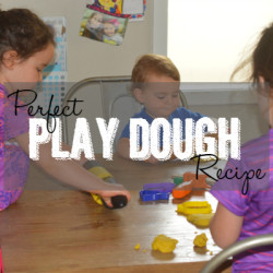 Perfect Play Dough Recipe - Featured