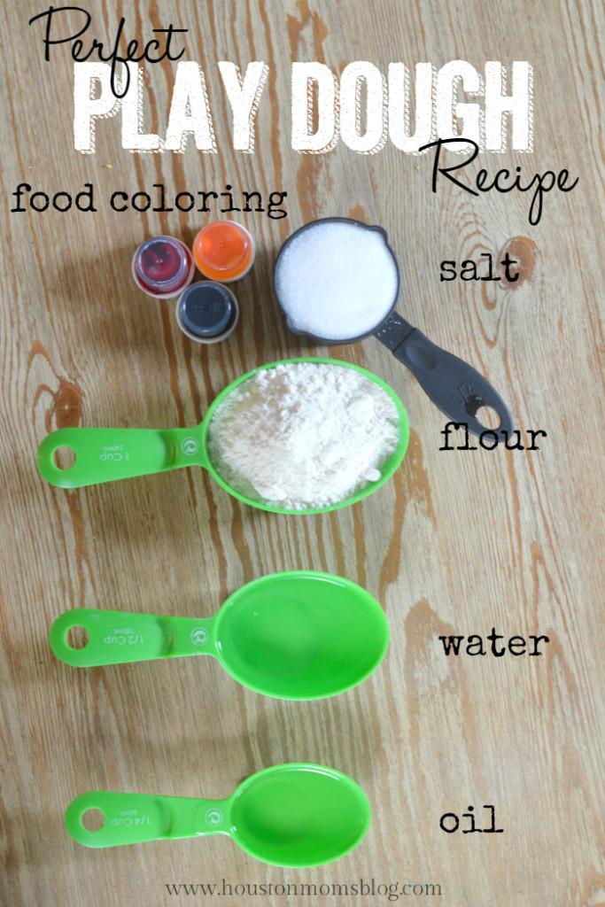Perfect Play Dough Recipe