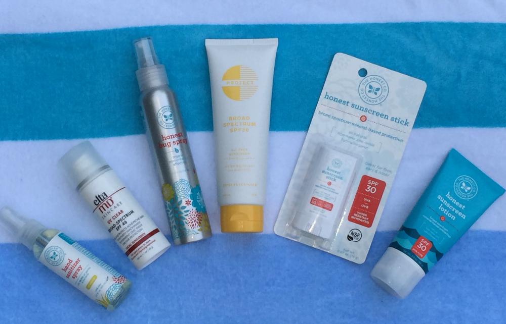 Pool Bag Essentials Sunscreen