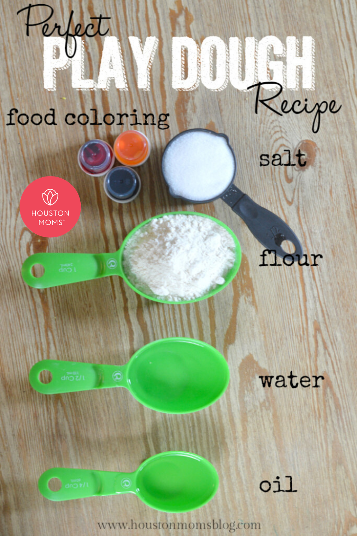 "Houston Moms ""Perfect Play Dough Recipe"" #houstonmoms #houstonmomsblog #momsaroundhouston"